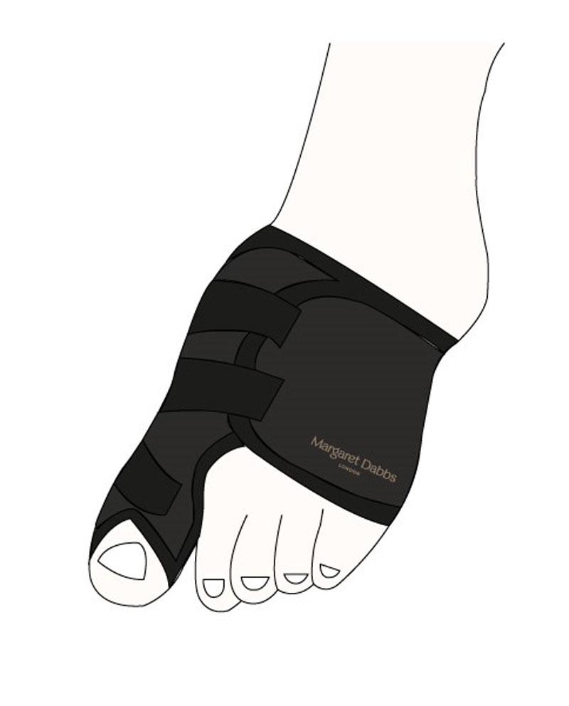 Margaret Dabbs podpora vybočeného palce na nohou