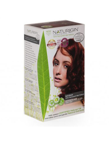 Naturigin přírodní barva na vlasy Medium Blonde Deep Red 7.55