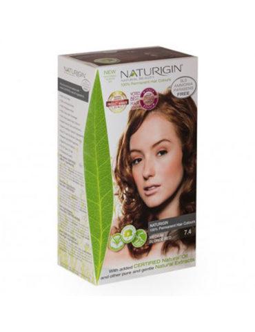 Naturigin přírodní barva na vlasy Medium Blonde Red 7.č