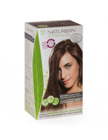 Naturigin přírodní barva na vlasy Medium Copper Blonde 6.34