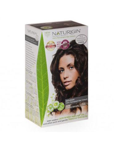 Naturigin přírodní barva na vlasy Dark Coffee Brown 3.0