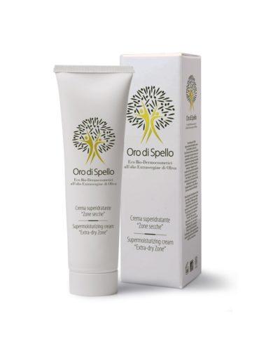 Oro di Spello hloubkově hydratační tělový krém pro suchou pokožku z extra panenského olivového oleje BIO certifikovaný