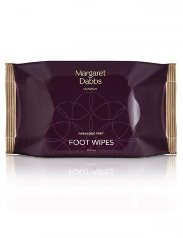 Čistící, chladivé a osvěžující ubrousky na unavené nohy Margaret Dabbs Foot Wipes