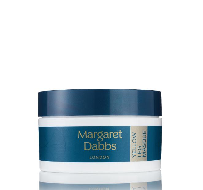 Prohřívací a rozjasňuájící maska na celé nohy Margaret Dabbs Yellow Leg Masque