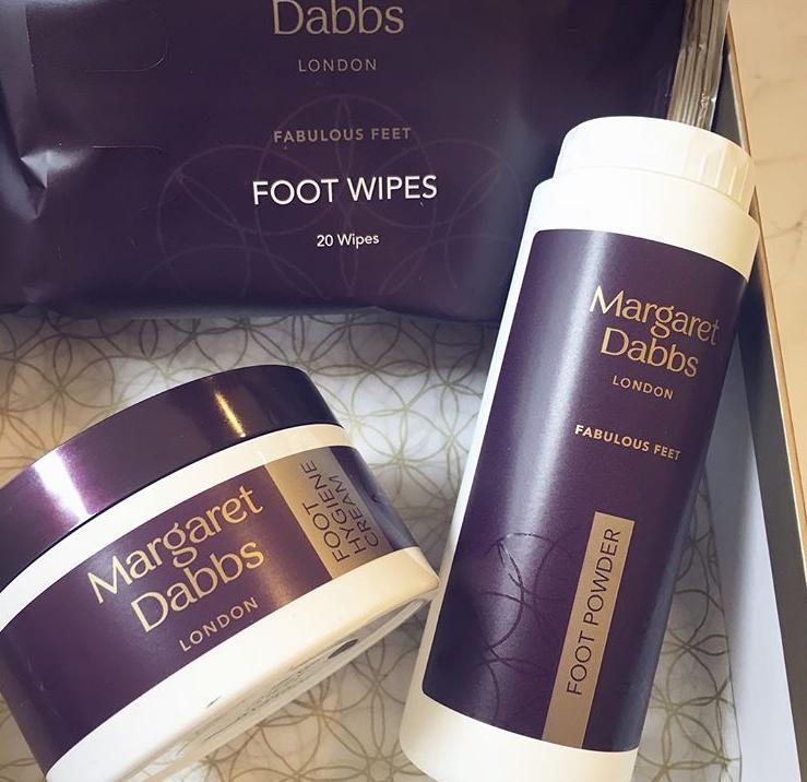 Sada péče o svěží nohy Margaret Dabbs London