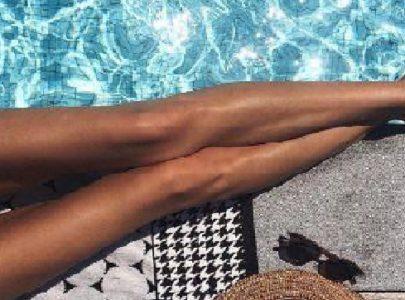 Krásné, lehké, hebké nohy bez otoků
