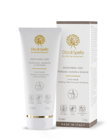 Face mask Oro di Spello